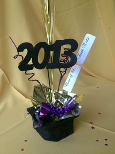 graduation centerpieces on Pinterest