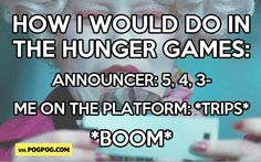How I would do in the Hunger Games…