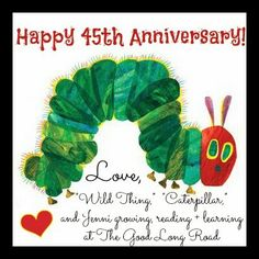 The Good Long Road: Happy Very Hungry Caterpillar Day: Celebrating 45 ...
