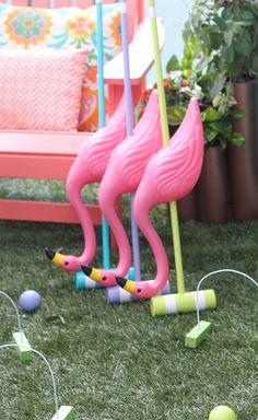 Make Your Own Alice in Wonderland Croquet Set