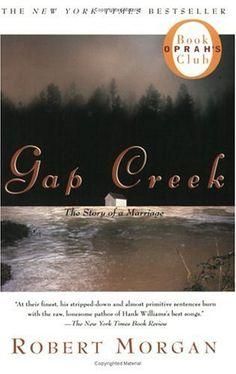 Gap Creek--early Appalachia--beautifully written