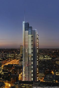 Heron Tower, United Kingdom · tallest tower in London is the Heron Tower