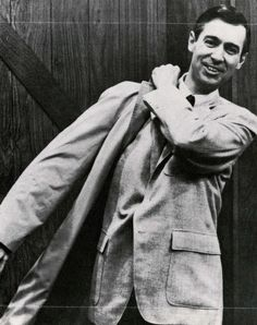 The one and only Mr. Rogers.