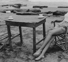 beaches, art photographi, summer coffee, at the beach, sea