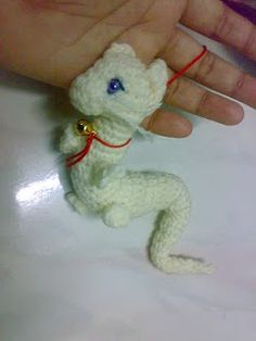 2000 Free Amigurumi Patterns: Baby Asian Dragon Amigurumi
