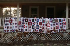 Quilts of Valor quilts.