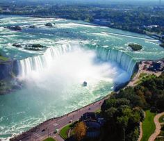 50 Most Popular Tourist Attractions In The World: Niagara Falls, Ontario, Canada & New York State, USA