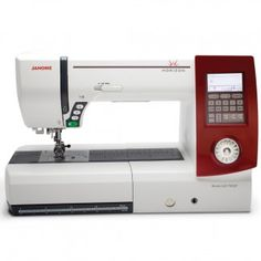 """Janome Horizon Memory Craft 7700 Sewing and Quilting Machine - Sew Vac Direct...11"""" sewing space"""