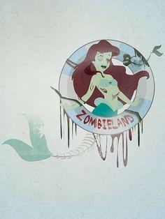 Little Mermaid Zombie