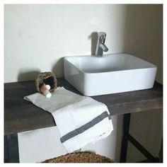 salle de bain d'invite