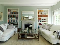 Need some redecorating inspiration? These lovely living rooms are chic enough for entertaining, but comfortable enough for Friday's famil...