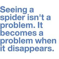 True.. but seeing one is also a problem ;)