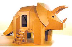 "Eiji Hiyama is the founder of ""World of Cardboard"" where all exhibits and playthings are of cardboard"