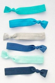 How to Make an Elastic Ribbon Hair Tie