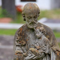 Old st francis statue madisonville, Louisiana