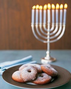 Classic Hanukkah Menu.