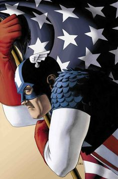 Captain America by John Cassaday  WELCOME HOME ANDREW JEWKES!!!!