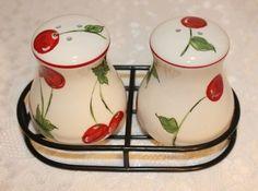 Cherry Salt and Pepper Set | eBay