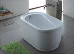tiny bathtub under 4' long