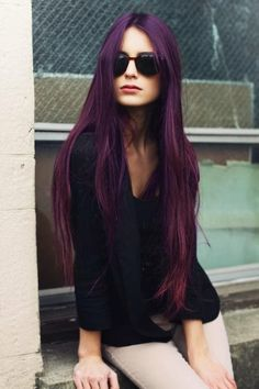 Popular Violet Red Hair Color Ideas 2014 | Haircuts  Hairstyles for short long medium hair
