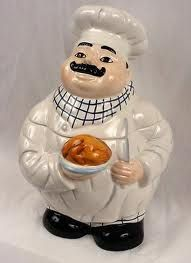 Chef Cookie Jar.