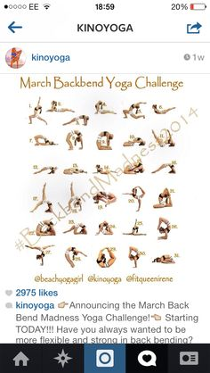 backbend yoga challenge