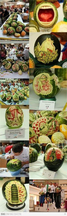 Just some watermelons...