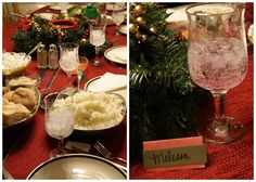 Candlelight Christmas Eve Dinner [tradition + recipe] - So Festive!  Christmas Eve Cream Cheese Chicken