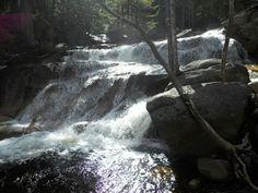 Lucy's Falls at Diana's Bath in New Hampshire, courtesy Debra Scialla.