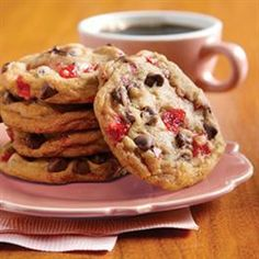 Cherry Chocolate Chippies from Pillsbury Baking®