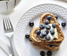Nothing says good morning like blue berry pancakes