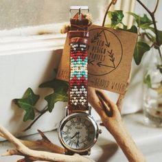 Native American inspired watch by EcoDesignProject