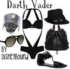 Darth Vader by disneybound