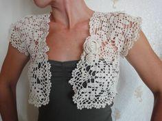 Ccrochet crochet ideas, crochet tutorials, crochet squares, tutorial crochet, chart, bolero, filet crochet, crochet patterns, crochet items