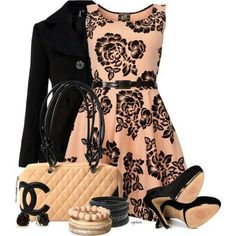 fashion, cloth, style, dresses, outfit, the dress, flower power, date nights, floral dress