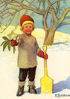 Elsa Beskow - children's book illustrator
