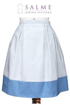 PDF Sewing pattern - Color Block Skirt. $7.00, via Etsy.