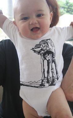 OMG I need this.  #geek #baby #at-at #star #wars