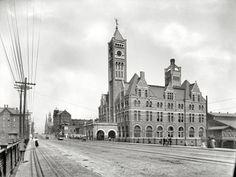 Union Station, Nashville, Tennessee, circa 1900