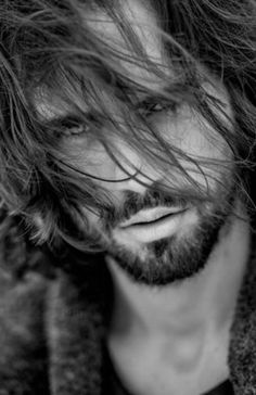 .Love long hair on men....but also short hair, and sometimes no hair. Yeah, I'm decisive like that.