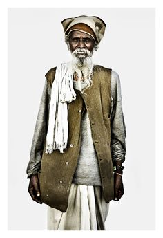 There is a great sense of dignity and inner peace conveyed by each and every one of the Sadhu portraits...