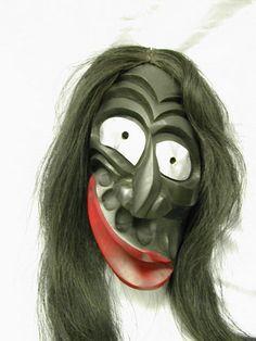 Iroquios false face mask