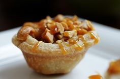 Thanksgiving! Taffy Apple Tartlets. Pampered Chef Recipe.