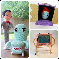 Peewee's Playhouse Amigurumi Crochet by craftyiscoolcrochet, $16.99