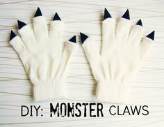 DIY Monster Claws