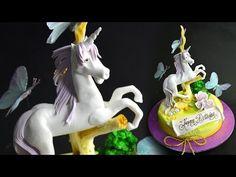 3D Toadstool Cake Tutorial - Sample - YouTube