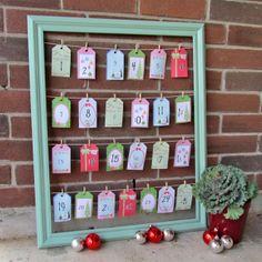 Advent Calendar {Christmas Tutorial}