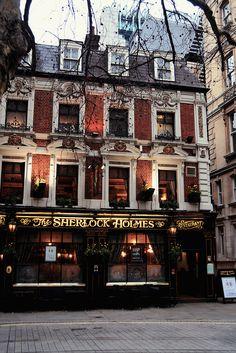 Sherlock Holmes Pub in London, UK