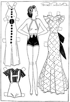 Etta Kett  1-27-36– Final Fashions for Your Paper Doll Cut-Outs | YesterYear ...