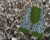 Small linen and cotton Floral Big Butt Baby Pants /3-6 months/ by Lagamorphlounge on Etsy. $16.00